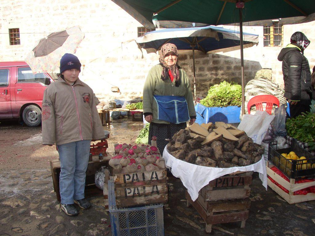 イスタンブールでは見ない冬野菜